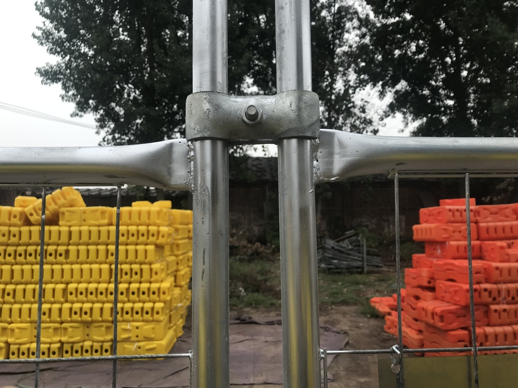 Temporary Fencing Panels OD48mm Height 2mx3m Width supplier
