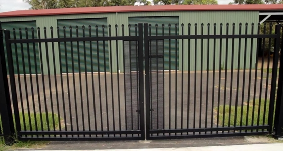 China Security Fencing Spear Top - 1800 x 2400 Black Panel distributor
