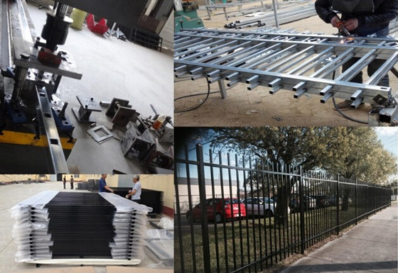 Good Quality Garrison fence & Hercules Fence Panels 2100mm x 2400mm,High-qualtiy Hercules Steel Security Fencing on sale
