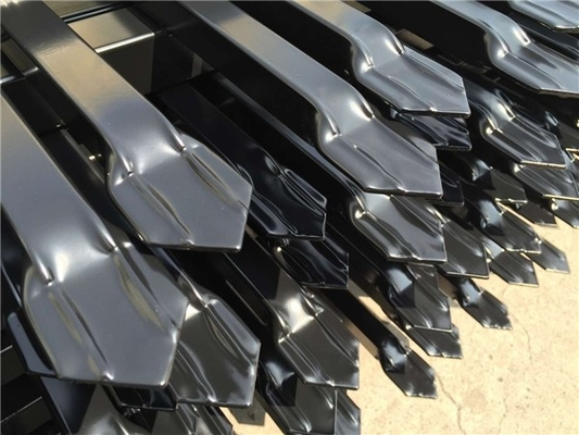China Steel Fence panels 2.1mx2.4m garrison security fence panels distributor