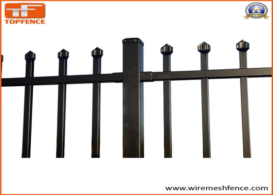 Good Quality Garrison fence & China supplier - hot sale good quality garrison fence/zinc steel fence on sale