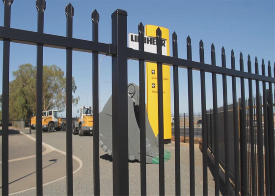 Good Quality Garrison Fence & Garrison Fence for sale ,Steel Fence 1800mm height ,2100mm ,2200mm height and 2400mm garrison tubular fence on sale