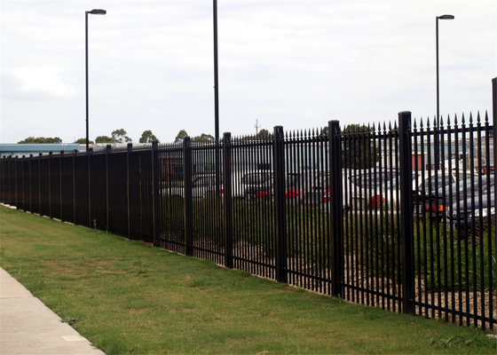 China High security fence/steel hercules fence panel/garrison fence panel distributor