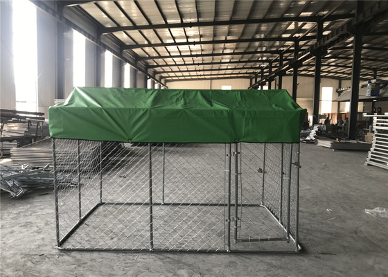 China chain link fence dog kennel 2.23x3.0x1.83m distributor