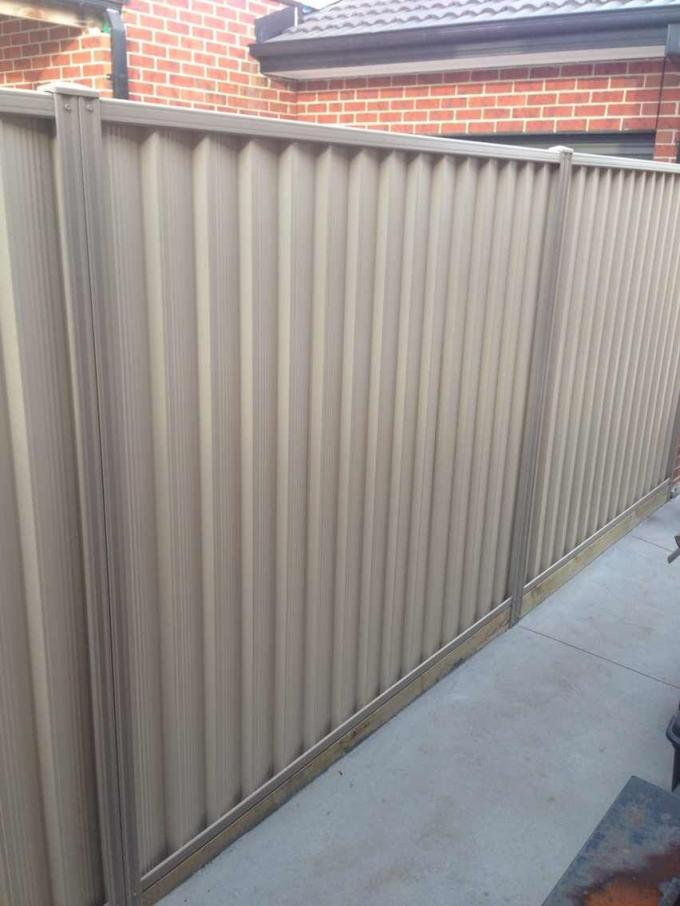 Steel Colorbond fencing Available in Difference of Color Of Fencing Materials