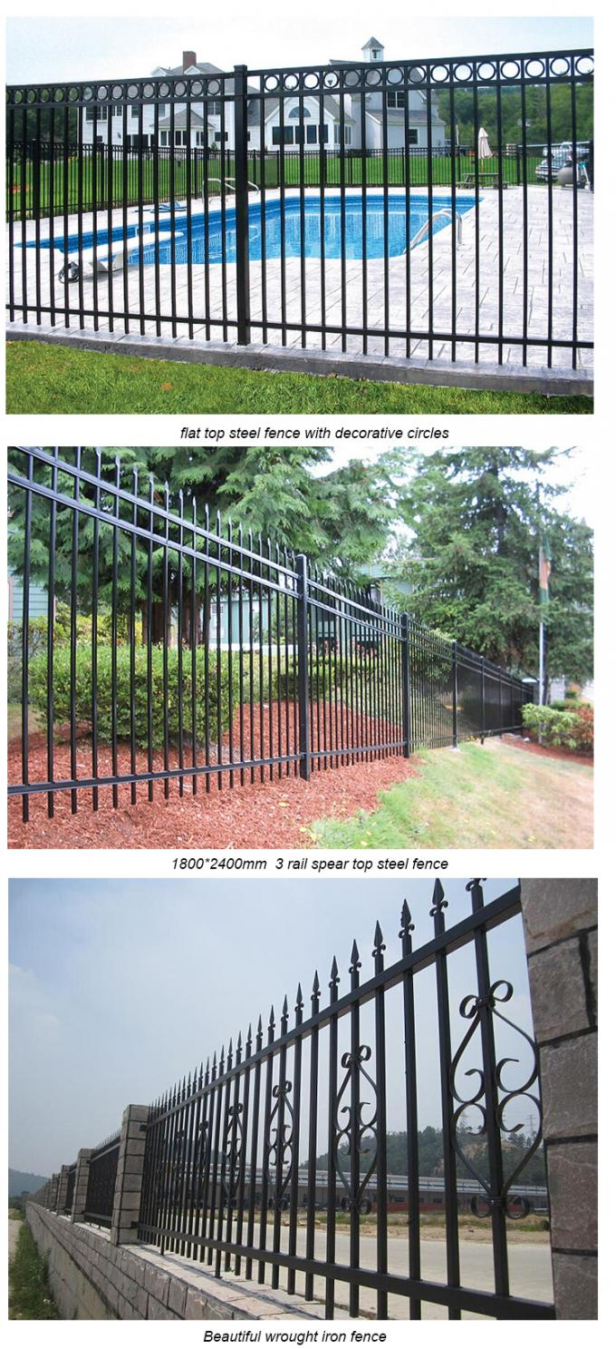 2400 mm Wide * 2100 mm steel hercules fence high security