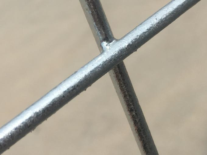 84 microns hot dipped galvanized temporary fence panels HDG after fabericated 2100mm*2400mm panels