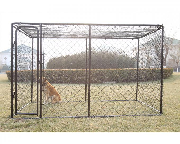 Chain Link Dog Kennel