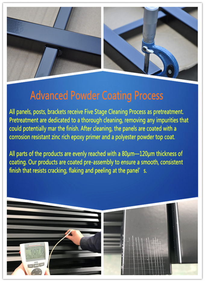 powder coating crowd control barriers