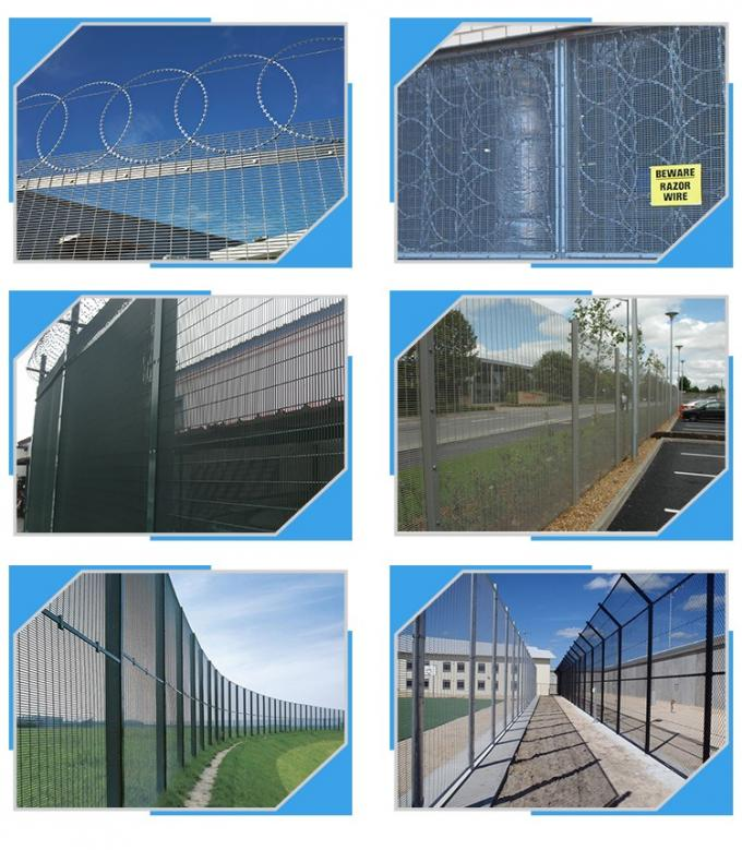 military security 358 wire fence panel