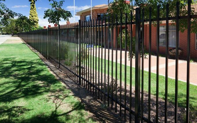 For Australia Market Powder Coated Commercial Garrison Security Oz Wide Fence