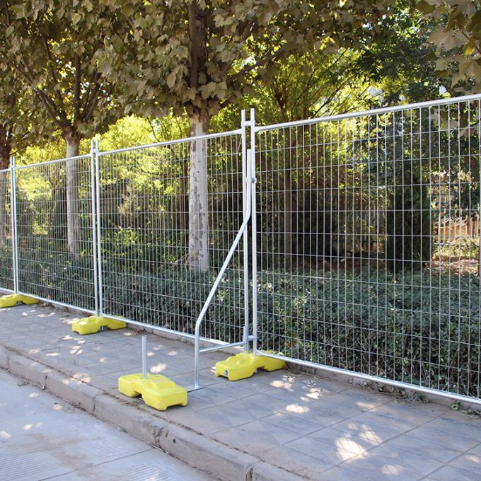2.1mx2.4m Hot-Dipped Galvanized Building Construction Temporary Fence Panel For Sale