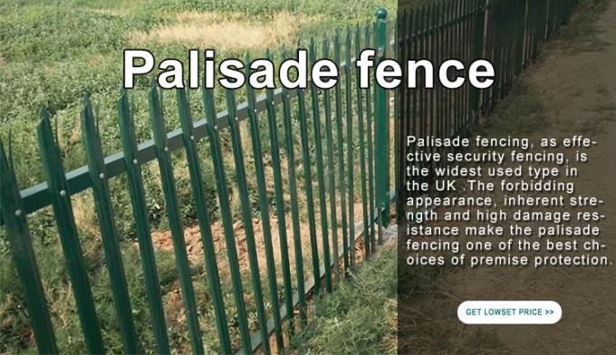 High Quality Welded Wire Mesh Fence Garden Fence Palisade fence