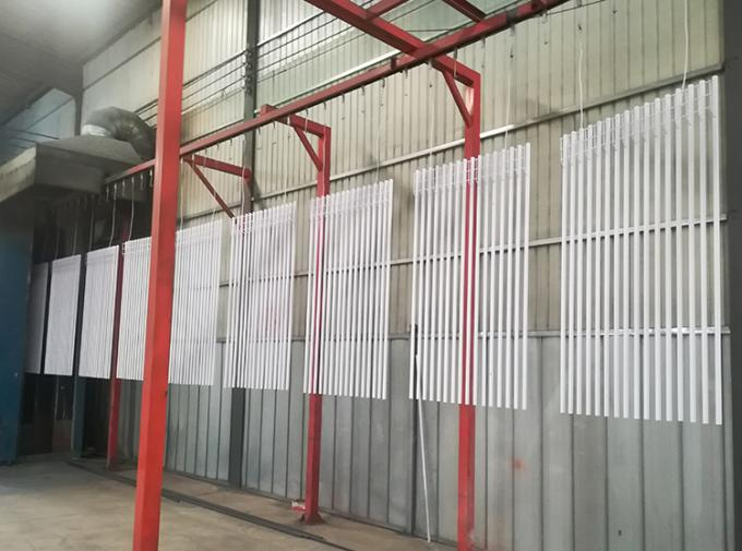 Factory Customizable Galvanized Steel Fence Panels Powder Coated Black Steel Wrought Iron Fence