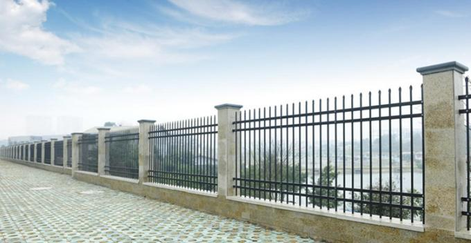 Lowes Steel Wrought Iron Railings Palisade Temp Fence For Sale In Mauritius Market