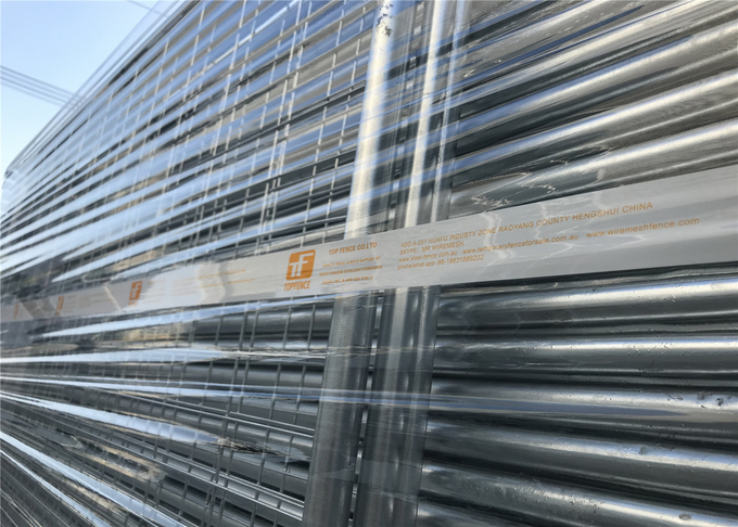 Temporary Fencing Panels OD 32mm x 1.4mm wire 3.00mm Melbourne 60mm x 150mm UV 10 treated 5 years without colour fading