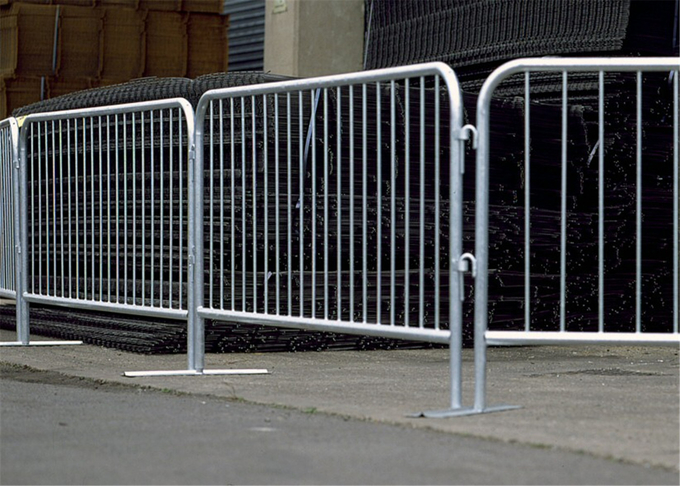 Aluminium Alloy Crowd Control Barriers For Pedestrian Control also available steel crowd control barriers
