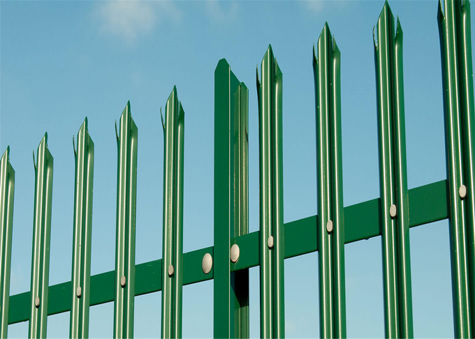 Palisade Fencing Vehicle Gates