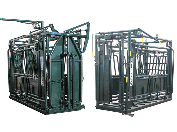 Double Squeeze Cattle Chute